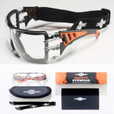 ToolFreak Rip-Out Protective Eyewear Clear Lens