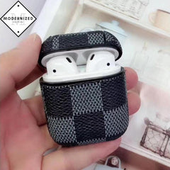 Leather Protective Case Airpods iPhone