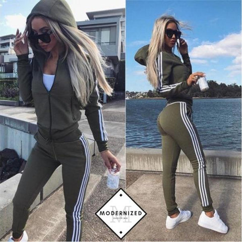 New 2 Piece Tracksuit Set