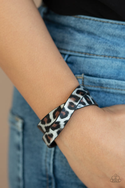 Paparazz Accessories - www.5dollarstylemaven.com - All GRRRirl- Silver - Paparazzi Accessories -
