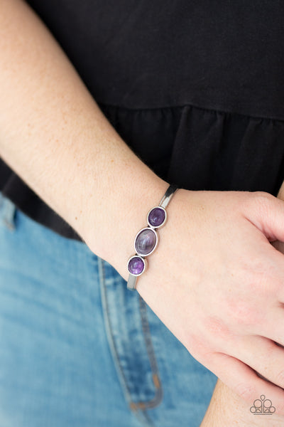 Paparazz Accessories - www.5dollarstylemaven.com - ROAM Rules - Purple - Paparazzi Accessories -
