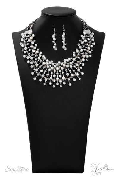 Paparazz Accessories - www.5dollarstylemaven.com - The LEANNE - Zi Signature Collection - Paparazzi Accessories -