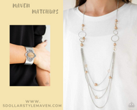 Paparazz Accessories - www.5dollarstylemaven.com - Bubbly Bright & Yes, I CANYON! -