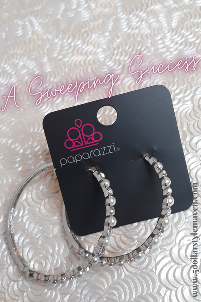 A Sweeping Success - Silver - Paparazzi Accessories