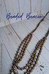 Beaded Beacon - Brass