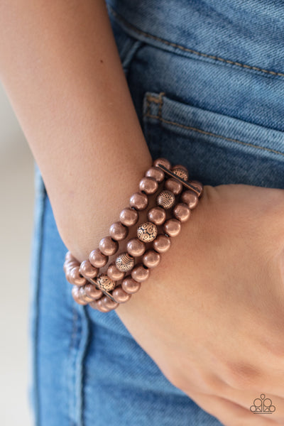 Paparazz Accessories - www.5dollarstylemaven.com - Trail Treasure - Copper -