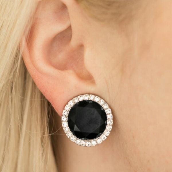 Paparazzi Accessories jewelry - www.5dollarstylemaven.com - Positively Princess - Black - Paparazzi Accessories -
