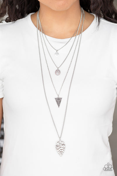 Paparazz Accessories - www.5dollarstylemaven.com - Grounded In ARTIFACT - SIlver - Paparazzi Accessories -