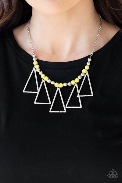 Paparazz Accessories - www.5dollarstylemaven.com - Terra Nouveau - Yellow - Paparazzi Accessories -