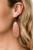 Paparazz Accessories - www.5dollarstylemaven.com - Radiantly Radiant - Copper - Paparazzi Accessories -