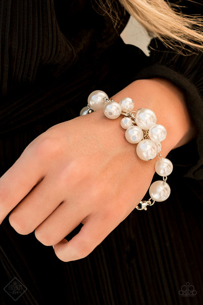 Paparazz Accessories - www.5dollarstylemaven.com - Girls In Pearls - Pearl - Paparazzi Accessories -