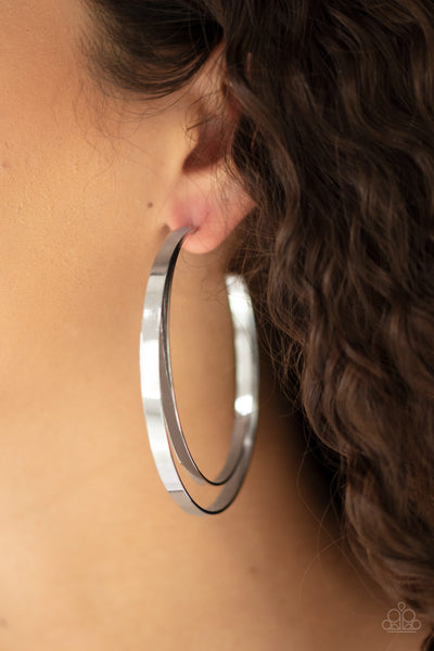 Paparazz Accessories - www.5dollarstylemaven.com - Moon Child Metro - Silver - Paparazzi Accessories -