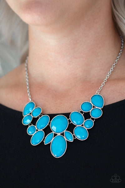 Paparazz Accessories - www.5dollarstylemaven.com - Demi Diva - Blue - Paparazzi Accessories -
