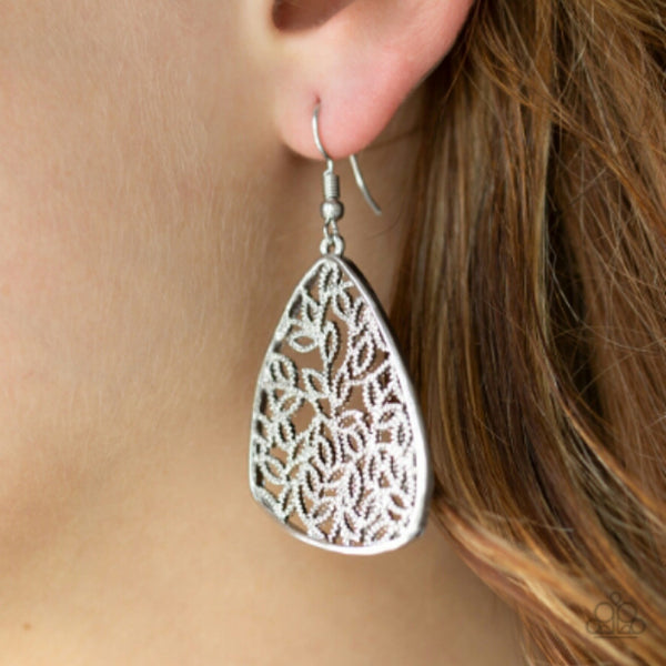 Time To Leaf  Silver - The $5 Style Maven boutique