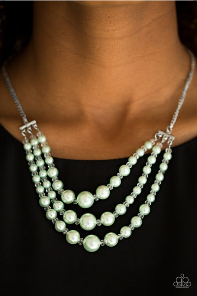Paparazzi Accessories jewelry - www.5dollarstylemaven.com - Spring Social - Green -