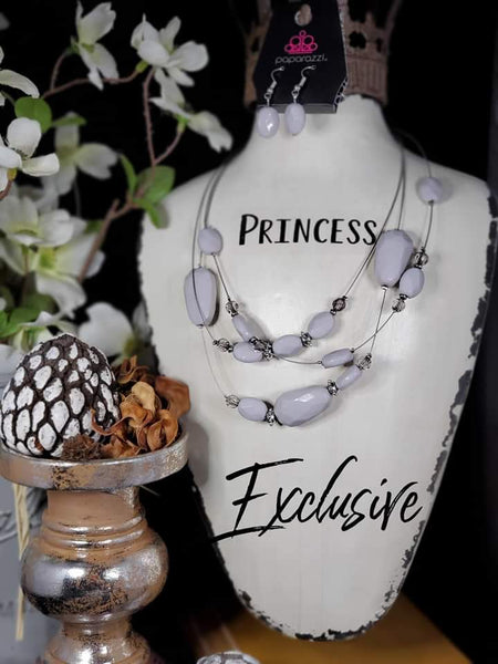 Paparazz Accessories - www.5dollarstylemaven.com - Radiant Reflections - Silver - Paparazzi Accessories -