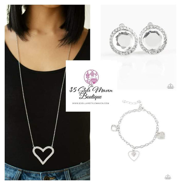 Paparazz Accessories - www.5dollarstylemaven.com - Pull Some HEART Strings, Positively Princess & Hearts and Harps -