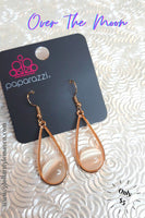 Over The Moon - Gold - Paparazzi Accessories