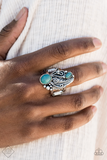 Paparazz Accessories - www.5dollarstylemaven.com - Desert Nest - Blue -