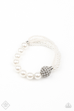 Paparazz Accessories - www.5dollarstylemaven.com - Show Them The DIOR - White - Paparazzi Accessories -