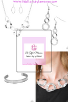 Modern Mechanics necklace set - The $5 Style Maven boutique