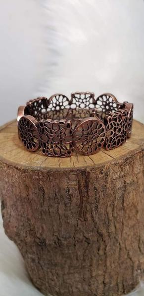 Paparazz Accessories - www.5dollarstylemaven.com - Mandala Mixer - Copper - Paparazzi Accessories -