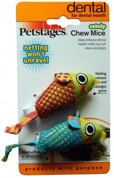 Petstages Catnip Chew Mice - pieper tier-gourmet