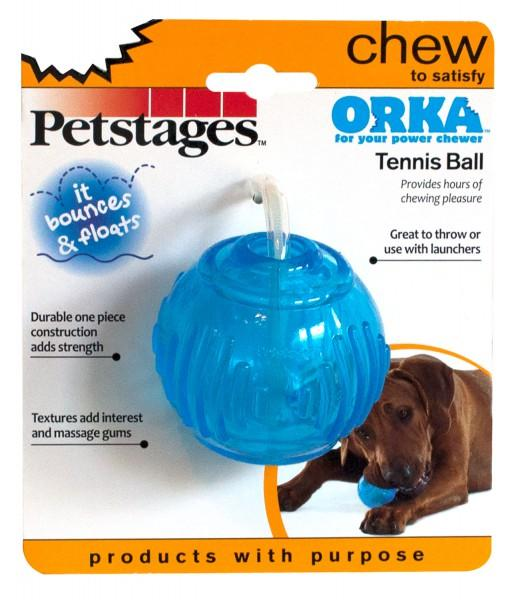 Petstages Orka Tennis Ball - pieper tier-gourmet