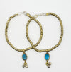 Vintage Double Layer Turquoise Stone Necklace