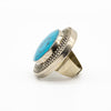 Antique Turkmen Adjustable Turquoise Ring