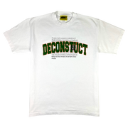 DECONSTRUCT  T-SHIRT (WHITE)
