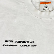 Load image into Gallery viewer, COORDINATES T-SHIRT (WHITE)