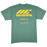 FAIL, LEARN, GROW T-SHIRT (ATLANTIC GREEN)