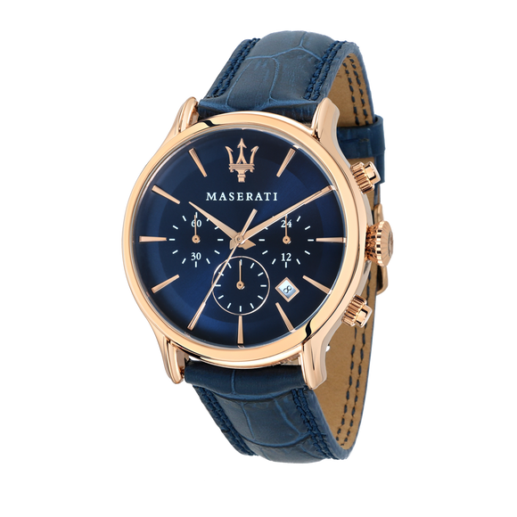 EPOCA 42mm Deep Blue Watch