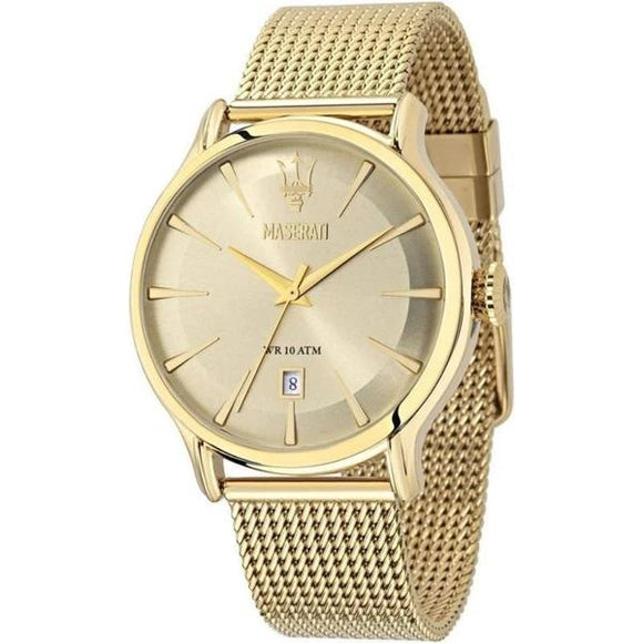 EPOCA 42mm Gold Mesh Watch