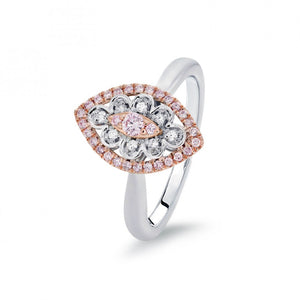 Blush Pink Diamond 'Edith' Ring