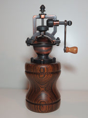 """Steampunk"" Pepper Mill - Bocote"