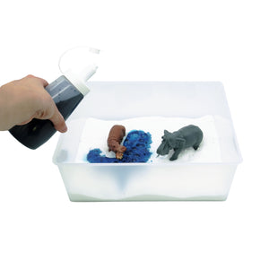 Taste-Safe Toddler Safari Sensory Bin - Elbirg