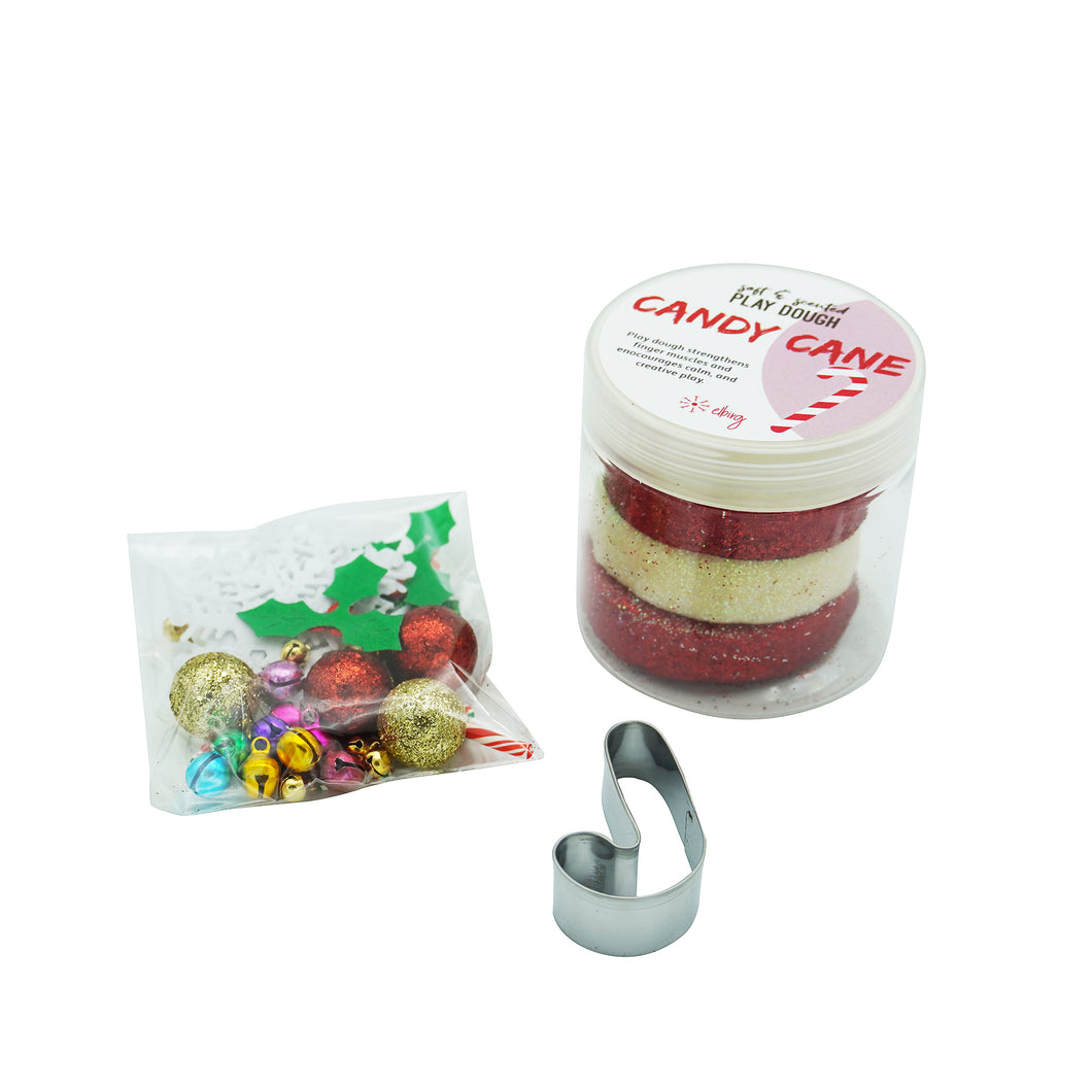 Candy Cane Playdough Bag - Elbirg
