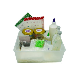 Festive Slime Kit - 4 Slimes with scents - Elbirg
