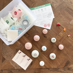 Festive bath bomb DIY kit - Elbirg