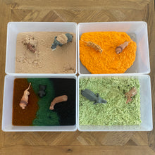 Load image into Gallery viewer, Taste-Safe Toddler Safari Sensory Bin - Elbirg