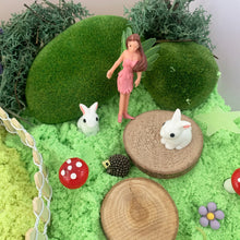 Load image into Gallery viewer, Fairy Garden Sensory bin - Elbirg