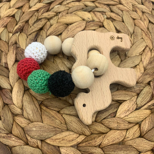 Jameela - Crochet Camel Teether - Elbirg
