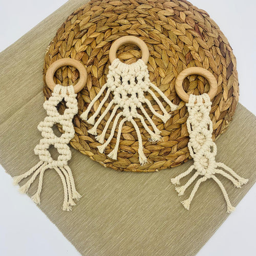 Macrame Teether - Elbirg