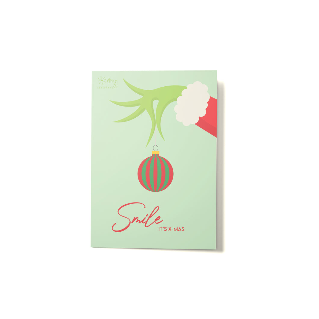 Grinch Christmas Card - Elbirg