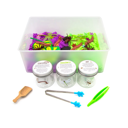 Scoop & Sort Crawler - Sensory Bin - Elbirg