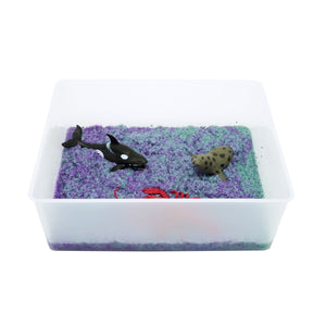 Taste-Safe Toddler Sea Life Sensory Bin - Elbirg