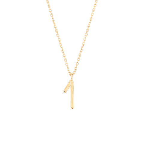 Wonther Number 1 Necklace