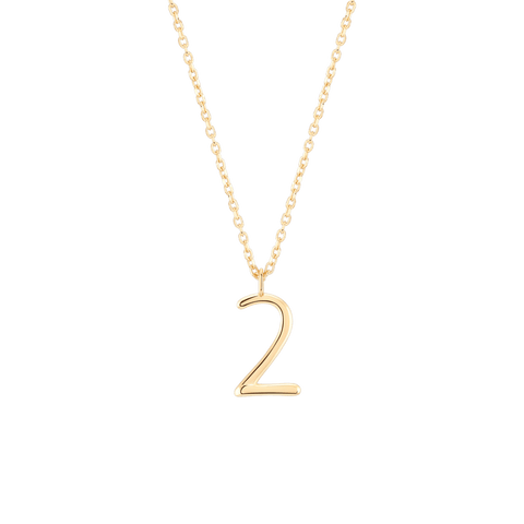 Wonther Number 2 Necklace